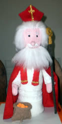 Knitted St Nicholas