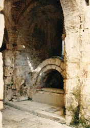 Arched tomb