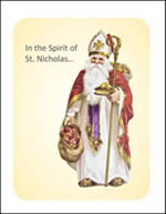 St Nicholas Alternative Giving Card